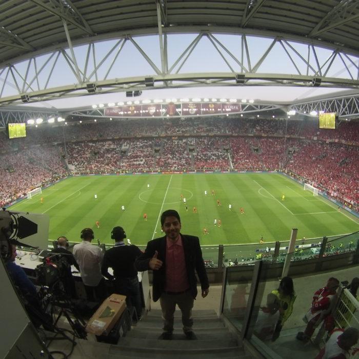 Freelance Producer of feature: 2014 UEFA Europa League Final