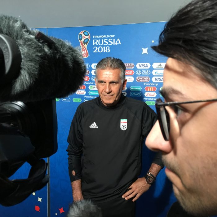 FIFA TV Producer at the 2018 FIFA World Cup