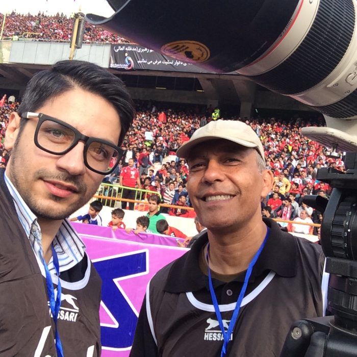 Producer and Director of FIFA TV Story: Incredible passion of Tehran derby